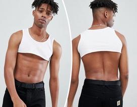 """Hài hước áo """"crop-top"""" dành cho... nam giới"""