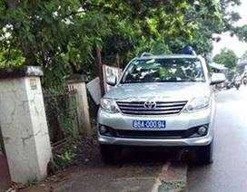 """Công an Bình Thuận thông tin về nghi vấn """"xe cảnh sát đậu sai quy định"""""""
