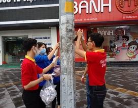 """Áo đỏ tình nguyện giúp sức """"Mùa hè xanh"""""""