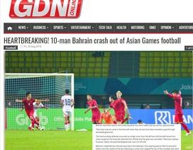 """Báo Bahrain """"kêu oan"""" sau trận thua trước Olympic Việt Nam"""