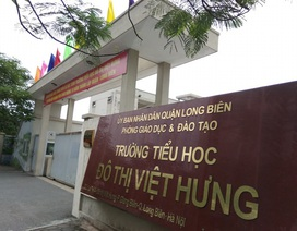 Hà Nội: Bị tố thu hàng chục khoản vô lí, trường chuẩn phải trả lại tiền