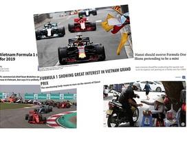 Chặng đua F1 tại Việt Nam sắp thành hiện thực