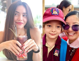 Hồng Nhung, Hà Hồ chia sẻ nỗi lòng ngày con tới trường