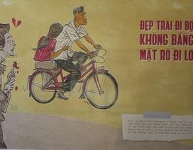 """""""Thương nhớ thời bao cấp"""" qua triển lãm tranh ở Hà Nội"""