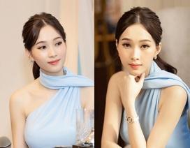 """Hoa hậu Đặng Thu Thảo lần đầu """"tái xuất"""" sau khi sinh con"""