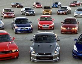 """Dự báo """"bùng nổ"""" tiêu thụ ô tô nhập vào cuối năm nay!"""
