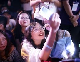 Nhóm nhạc Da Lab khuấy động đêm nhạc hội đón học sinh chuyên Tự nhiên