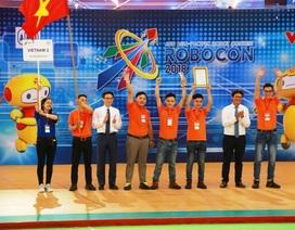 Việt Nam vô địch ABU Robocon 2018