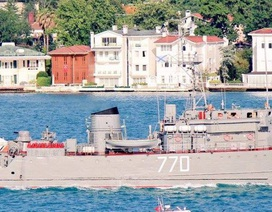 Nga điều 17 tàu chiến tới Syria