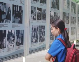 Trưng bày hơn 200 tư liệu quý về Chủ tịch Hồ Chí Minh