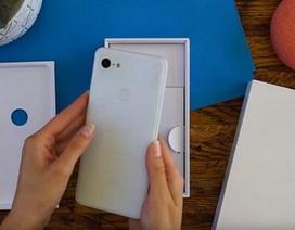 Chưa ra mắt, smartphone Pixel 3 XL của Google đã lộ video mở hộp rõ nét
