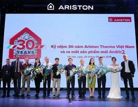 Ariston chính thức ra mắt ANDRIS2 – đỉnh cao tuyệt tác trong lĩnh vực bình nước nóng