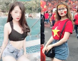 Đồng hương Văn Toàn có một fan girl bóng đá xinh đẹp thế này!