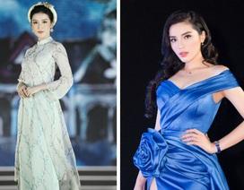 """Kỳ Duyên bất ngờ """"chạm mặt"""" Huyền My trên ghế nóng Hoa hậu Việt Nam"""