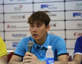 """Minh Vương: """"Tôi tự tin sẽ sút phạt ghi bàn vào lưới Hàn Quốc"""""""