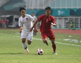 Nét tích cực từ trận thua Hàn Quốc của Olympic Việt Nam