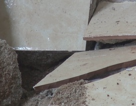 Đắk Nông: Trường học 13 tỷ mới đi vào sử dụng đã sụt lún, nứt toác!