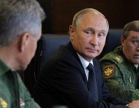 Tổng thống Putin miễn nhiệm 15 tướng Nga trước tập trận lịch sử