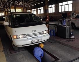 Siết quản lý xe ôtô bằng chế tài quy định khí thải