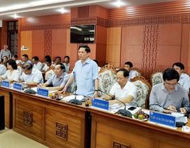 Bộ trưởng GTVT cảnh cáo chủ đầu tư dự án cao tốc Đà Nẵng - Quảng Ngãi