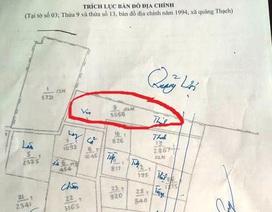 """""""Hô biến"""" cả nghìn m2 đất trồng cây lâu năm thành đất ở tại Thanh Hóa?"""