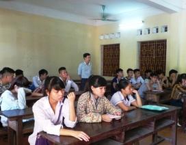 Thanh Hóa: Không thu tiền ra đề thi, coi thi và chấm thi ở trường phổ thông