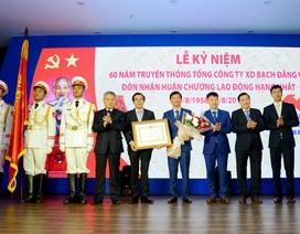 60 năm Ngày Truyền thống Tổng công ty Xây dựng Bạch Đằng: Đón nhận Huân chương Lao động hạng Nhất