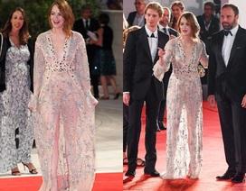 Emma Stone đẹp như công chúa trên thảm đỏ