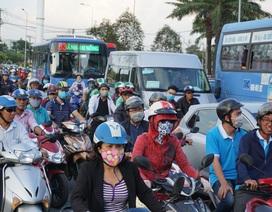"""TPHCM xin 2,4 tỷ đồng để """"kiểm soát"""" khí thải xe máy"""
