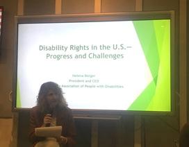 Chuyên gia Mỹ: Việt Nam có quyết tâm cao nhằm bảo vệ quyền lợi của người khuyết tật