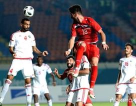 Bóng đá UAE suy yếu so với những đại diện hùng mạnh ở Tây Á
