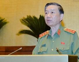 Bộ trưởng Công an trả lời chất vấn về tội phạm kinh tế, chức vụ
