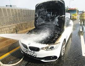 Liên tiếp xảy ra các vụ cháy xe BMW