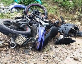 Nam thanh niên đi xe máy tông vào xe cẩu, tử vong tại chỗ
