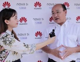 Huawei đặt mục tiêu top 2 thị trường smartphone Việt trước năm 2020