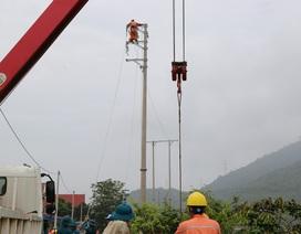 Phú Thọ hoàn thành việc sửa chữa và khắc phục sự cố về điện do hoàn lưu bão số 3