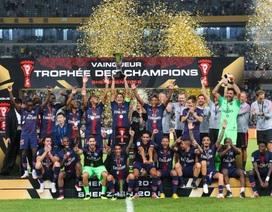 Vắng Mbappe, PSG hủy diệt Monaco để giành siêu cúp Pháp