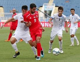 Olympic Uzbekistan bất ngờ bại trận trước Palestine