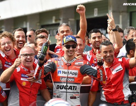 Andrea Dovizioso thắng thuyết phục tại Brno, Séc