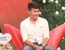 Chàng trai nói lắp bắp khi gặp bạn gái xinh xắn trong chương trình hẹn hò