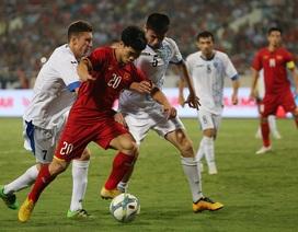 Olympic Việt Nam 1-1 Olympic Uzbekistan: Văn Đức tỏa sáng
