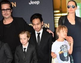 Angelina Jolie tố Brad Pitt không hỗ trợ nuôi con