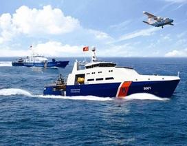 Cảnh sát biển được trang bị máy bay, vũ khí khi đi tuần tra
