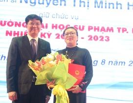 Trường ĐH Sư phạm TPHCM có nữ hiệu trưởng đầu tiên