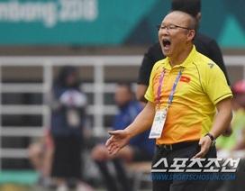 Báo Hàn Quốc tiếc cho Việt Nam sau khi lỡ huy chương đồng Asiad 2018