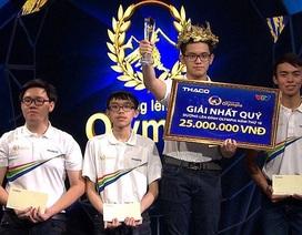 """Gặp Cường """"bác học"""" - nam sinh đạt kỷ lục Đường lên đỉnh Olympia 2018 trước giờ G"""