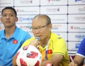 """HLV Park Hang Seo: """"Các cầu thủ Olympic Việt Nam đã làm hết sức mình"""""""