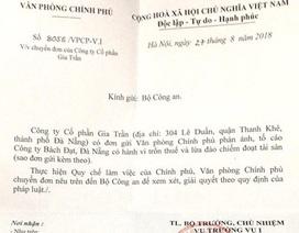 Nhịp cầu bạn đọc số 14: Văn phòng Chính phủ yêu cầu giải quyết đơn tố cáo của doanh nghiệp đầu tư tại Quảng Nam