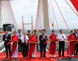 Thủ tướng phát lệnh thông xe cây cầu hơn 7.000 tỉ và cao tốc Hạ Long - Hải Phòng