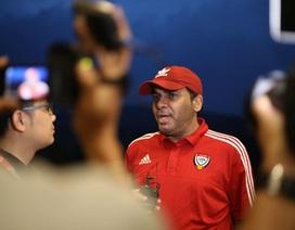 """Trưởng đoàn UAE """"nắn gân"""" Olympic Việt Nam trước trận tranh HCĐ"""